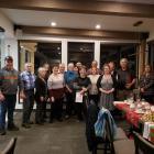 Élus et employés lors du souper de Noël - décembre 2019